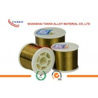 China Flat Enamelled Wire / Nichrome Alloy Wire 155 Class I/ II Type Polyurethane on sale