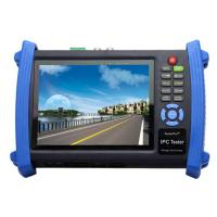 High Resolution CCTV Tester , Multifunction 7 Inch Touch Screen IP Camera Tester