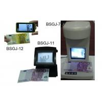Infrared Counterfeit Bill Detector / counterfeit detector machine For India