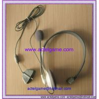 Xbox360 Headphone with 2 microphone  xbox360 game accessory Manufactures