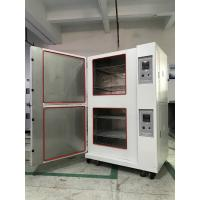Stackable Climatic Test Chamber Glass Fiber Insulation Single Stage Compression Refrigeration Manufactures