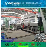 Plastic extrusion double-stage pelletizing line/ granulation line of polystyrene Manufactures