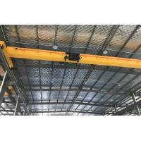China Heavy Duty Single Beam Overhead Crane to Heavy Machine for Shops , Paper Mills on sale