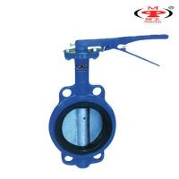 Manual Cast Iron Butterfly Valves Manufactures