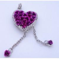 Heart pattern unusual fashionable 16g 32g memoria Jewelry USB Flash Drive for girls Manufactures