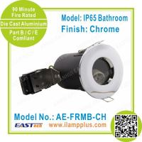 Buy cheap IP65 Bathroom Chrome Fire Rated Downlight   Fire Rated Ceiling   CE RoHS from wholesalers