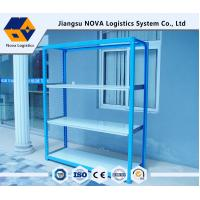 Industrial Adjustable Rivet Boltless Shelving Light Duty Scale In Blue Color Manufactures
