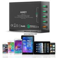 NEW Quick Charge 3.0 AUKEY 5 Port USB Charger for Samsung Galaxy S7/S6/Edge, LG G5, iPhone, Nexus 6P & More Manufactures
