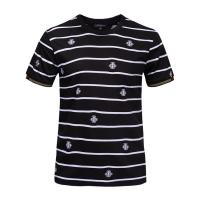 Customised Stylish Mens T Shirts Short Sleeve 100% Organic Cotton Material Manufactures