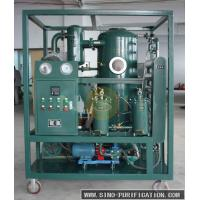Dehydration Vacuum Oil Purifier Easy handling Max Vacuum Range ≤ 50 Low Working Noise Manufactures