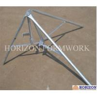 Flexible Concrete Forming Accessories Folding Tripod Stabilizing Steel Props Manufactures