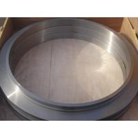 Large Flange ASTM Forged Steel Rings Of  Round Disk Shape , Carbon Steel  ISO 9001 - 2008