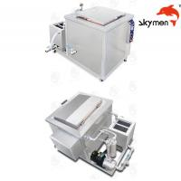 Engine / Auto Parts Ultrasonic Cleaning Equipment 2400W 28/40KHz With Filter Manufactures