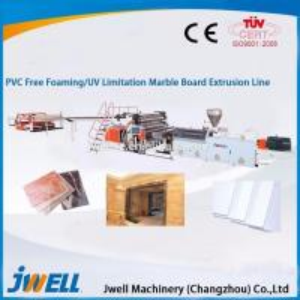 China Construction pvc board machine PVC free foam extrusion line on sale