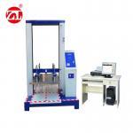Computer Servo Packaging Compression Strength Testing Machine , Single-screen