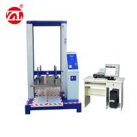 Computer Servo Packaging Testing Equipment / Paper Carton Compression Strength Testing  Equipments Manufactures