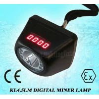 Cree IP65 lithium battery LED Mining Cap Lamp low power indication Manufactures