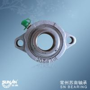 Dia 25mm Stainless Steel Bearing Housing SSBLF205 / Hardware Bearings Manufactures