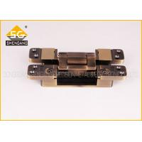 3D Invisible Hinges Exterior Door Three Way Hinge , Hidden Hinges For Cabinets Manufactures