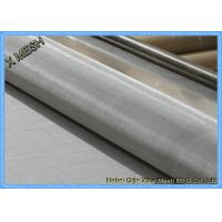 """200mesh Plain Weave 304 Alloy Stainless Steel Screen Roll  48""""X100"""" Anti Corrosion Manufactures"""
