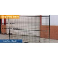 "6'X9.6' temporary construction fence frame 1.6""/40mm brace1.2""/30mm and 16ga"
