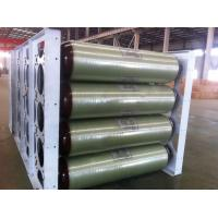 ISO11439 CNG Storage Tanks , 250 Bar 200L X 40 EA 20FT Compressed Natural Gas Tank Manufactures