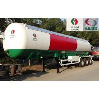 56000 Liters Transport LPG Gas Tanker Truck 25T Large Scale Crude Oil Tanker Truck Manufactures