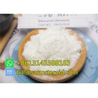 99% Anabolic Steroid Hormones Oral / Injectable Raw Stanozolol Winstrol For Lean Muscle Manufactures