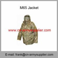 China Wholesale Cheap China Army Water-repellent Camouflage Field Combat M65 Coat on sale