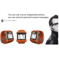 SIM card Bluetooth Watch phone with video , audio , alarm clock Manufactures