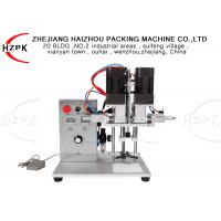 High Speed 30 KG Tabletop Semi Automatic Capping Machine Duck Type Cap Manufactures