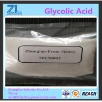 China Glycolic Acid White Crystal Cosmetic Raw Materials CAS 79-14-1 on sale