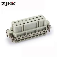HA-016 rectangular heavy duty connector of 16 pin the slim inserts Manufactures