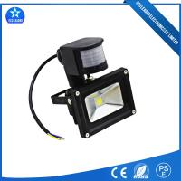 China Black Motion Sensor LED Lights 50W with PIR Outdoor Flood Lighting on sale