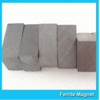 China Custom size Y33 industrial block rectangle ferrite magnet for multipurpose on sale