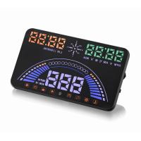 Ouchuangbo  S7 HUD Head Up Display Combing OBD and GPS Two Systems Engine Fault Alarm Dynamic Speed Over Warning