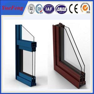 China aluminium factory,powder coating aluminium sliding window/aluminum window profiles Manufactures