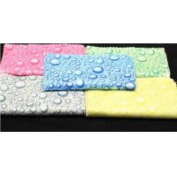 Microfiber printed lens cleaning cloth-lint free