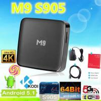 China Signal Transmitting M9 5.1 Android Mini Pc Tv Box Sunsat M9 Android Media Player on sale