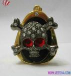 Jewelry Skull Heads USB Pen 1GB-32GB Manufactures