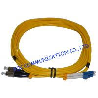 China CATV System Fibre Optic Patch Cord , SM Duplex LC Patch Cord High Stability on sale