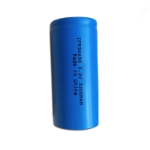 Lithium Iron 3200mAh 3.2 Volt Rechargeable 26650 Batteries Manufactures