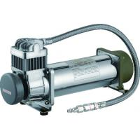 Water Proof Metal Air Bag Suspension Pump 70 L/Min Air Flow With Air Horns Manufactures
