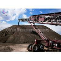 Heat Resistant Portable Electric Conveyors , Coal Mining Industry Portable Conveyor Belt Systems Manufactures