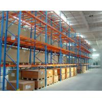 Warehouse Storage Heavy Duty Pallet Racking Every Layer Equipped with Pallet Support Bars Manufactures