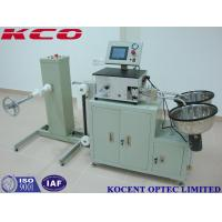 China Full Automatic Fiber Optic Polishing Equipment / Fiber Optic Cable Cutting Machine on sale