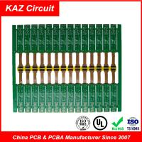 2 Layer PCB Board FR-4&PI ENIG Rigid Flex Circuit Board 1.6 Mm 1 Oz Copper Manufactures
