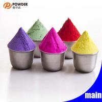 Smooth Surface Epoxy Powder Coating Materials , Heat Resistant Powder Coat Manufactures