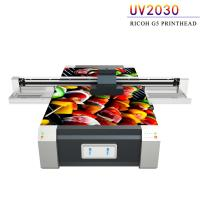 China Multi Color UV Flatbed Printing Machine , Digital Flatbed UV Printer on sale