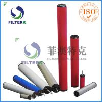 K145 Series Air Compressor Filter Cartridge , Domnick Hunter Air Compressor Air Intake Filter  Manufactures